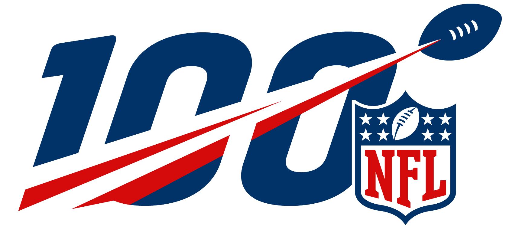 NFL100 logo